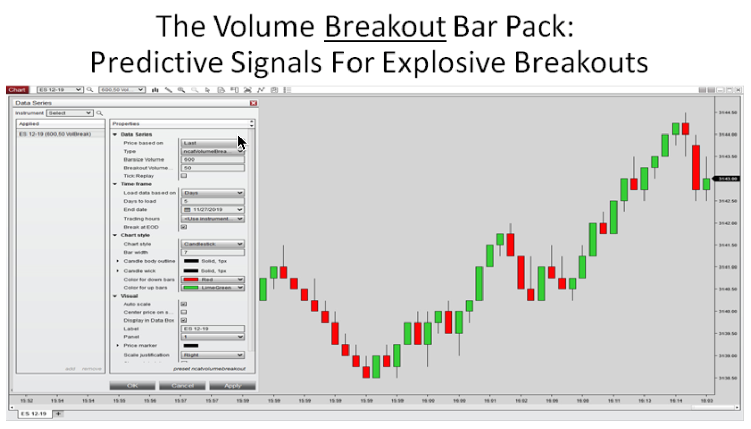 The Volume Breakout Bar Pack